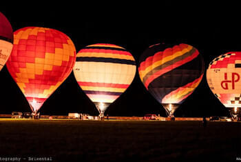 Night of the balloons Kirchberg © Raad Photography - Brixental